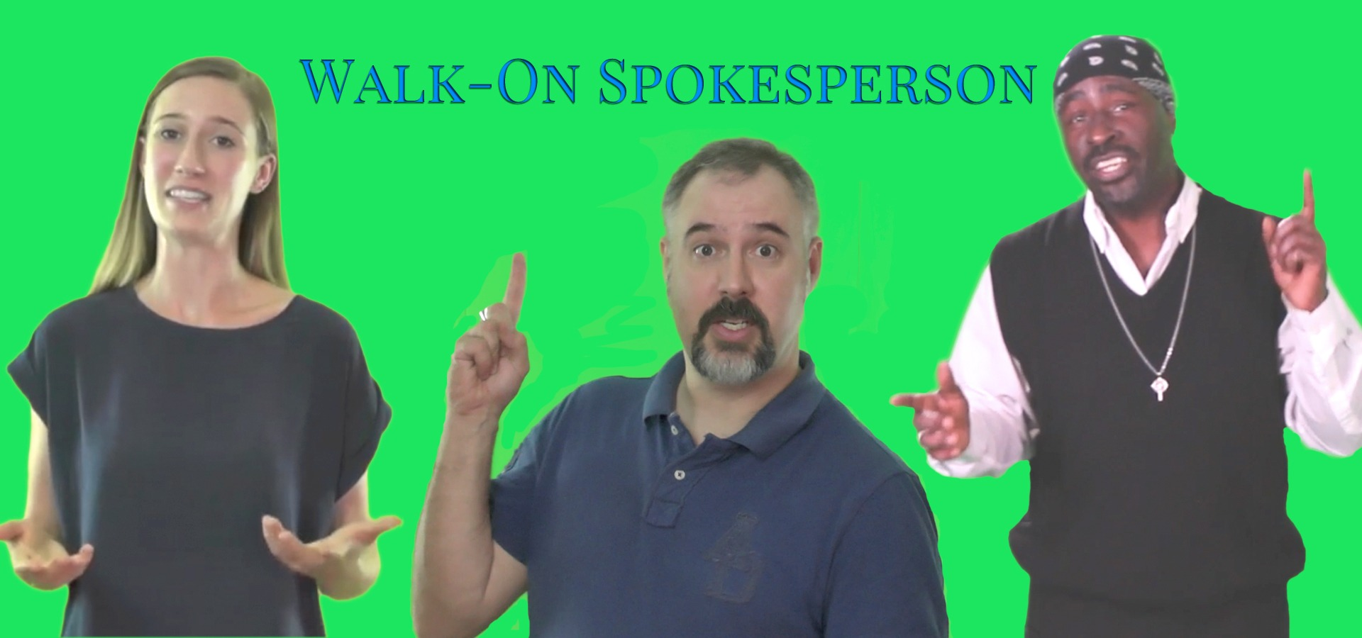 Walk-On Spokesperson at GrongTech